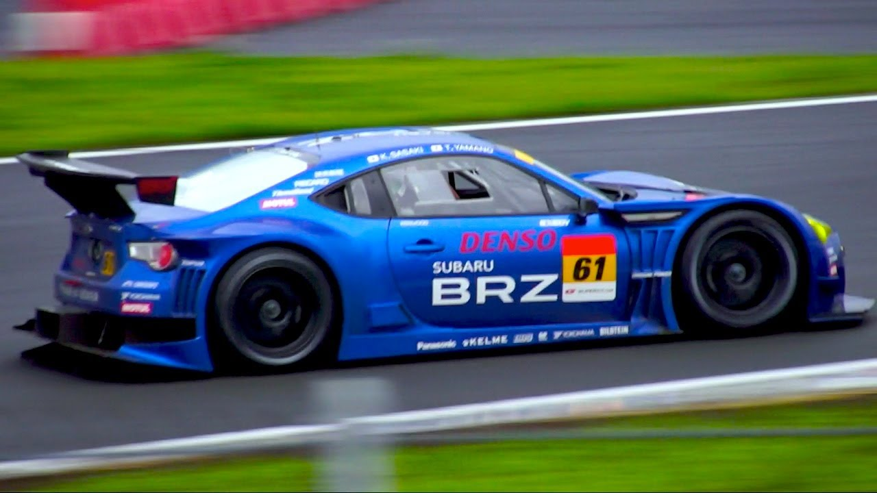 Subaru BRZ Race Car (GT300) - YouTube