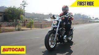 Harley Davidson 1200 Custom   First Ride   Autocar India