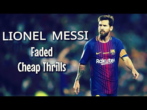 Lionel Messi Faded Cheap Thrills Airplanes...