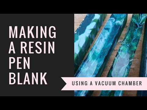 Make your own resin pen blank