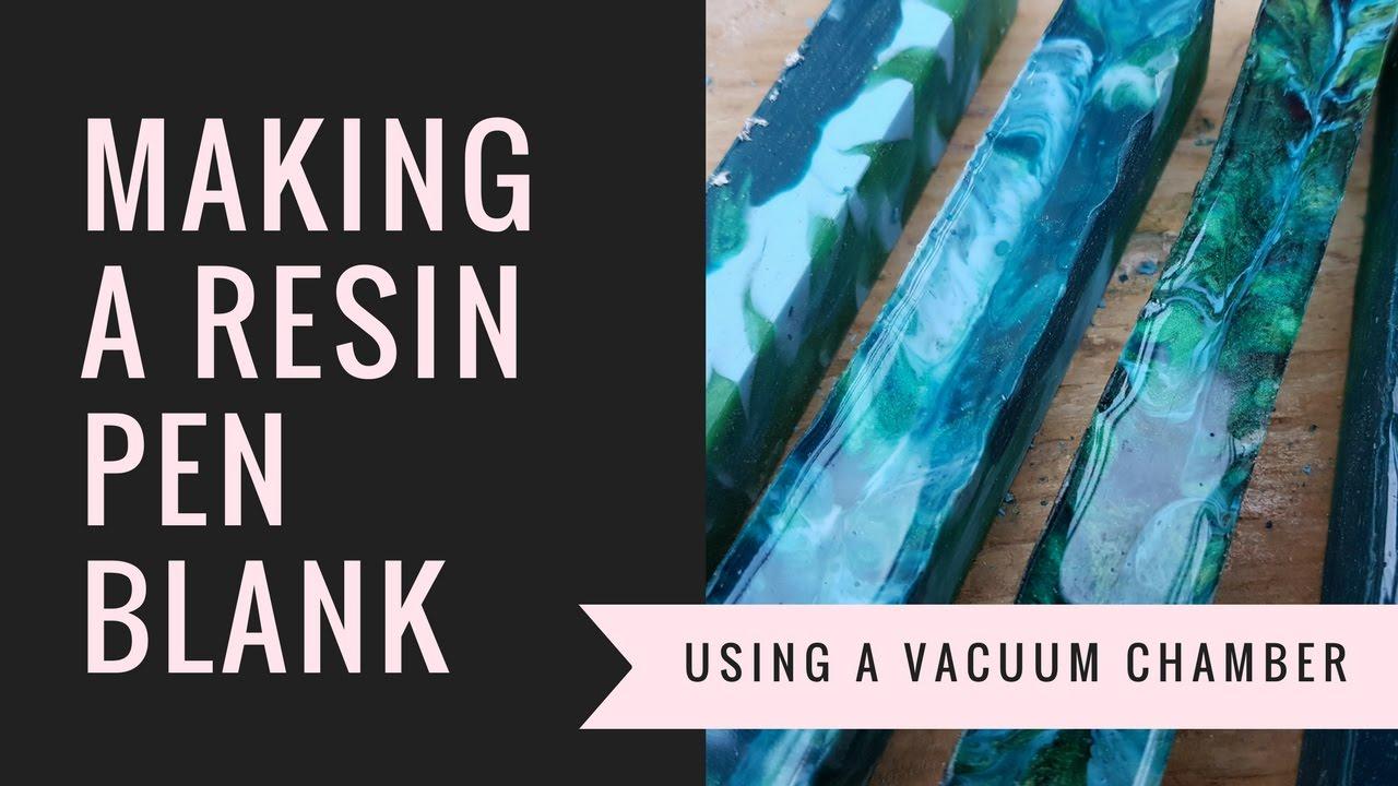 Make your own resin pen blank - YouTube