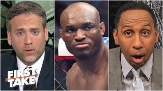 Stephen A. and Max react to Kamaru Usman knocking out Jorge Masvidal | First Take