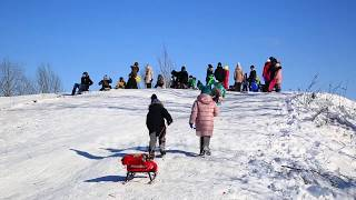 Огляд сніжних гірок Покровська