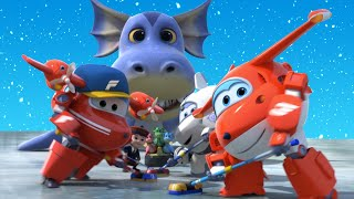 [Special clip] SuperWings Winter Story Compilation | Best clips