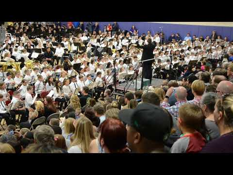 Oak Harbor Intermediate School Beginning Band: Rock-A-Saurus Rex
