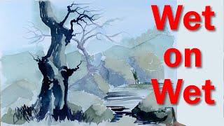 Start Painting: Watercolour Basics PART 3 - Wet on Wet