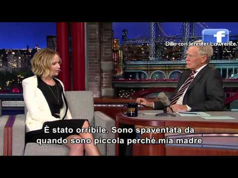 Jennifer Lawrence al David Letterman 12-11-2014 (sub ita)