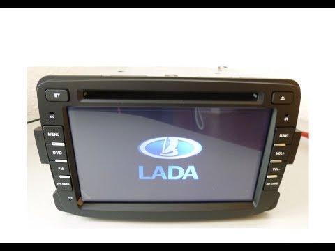 Штатная магнитола Lada X Ray Duster Logan Sandero