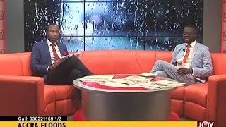 Accra Floods - AM Show on JoyNews (20-6-18)