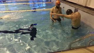 Тренировка по двухударному кролю (ч.1)