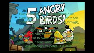 The Angry Birds Rap (With Lyrics)