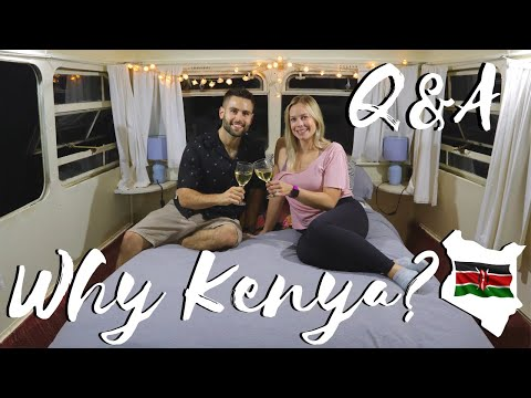 Why Did We Move To Kenya / Couple Q&A ❤️