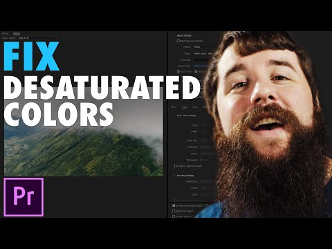 How To Fix Desaturated Colors In Your Adobe Premiere Pro Exports