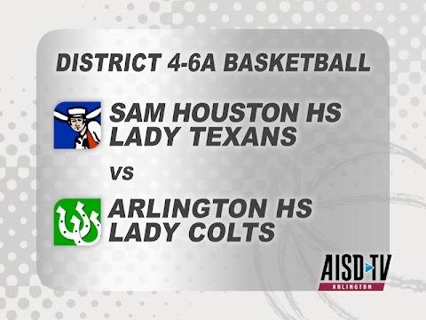 2016 Basketball: Sam Houston Lady Texans at Arlington Lady Colts