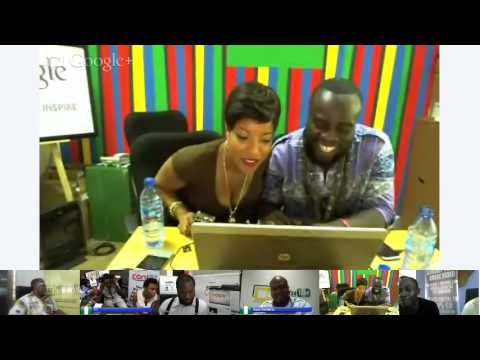 Google Hosted Hangout Session @ SMW, Lagos.  Movies, Music & Entertainment Without Borders