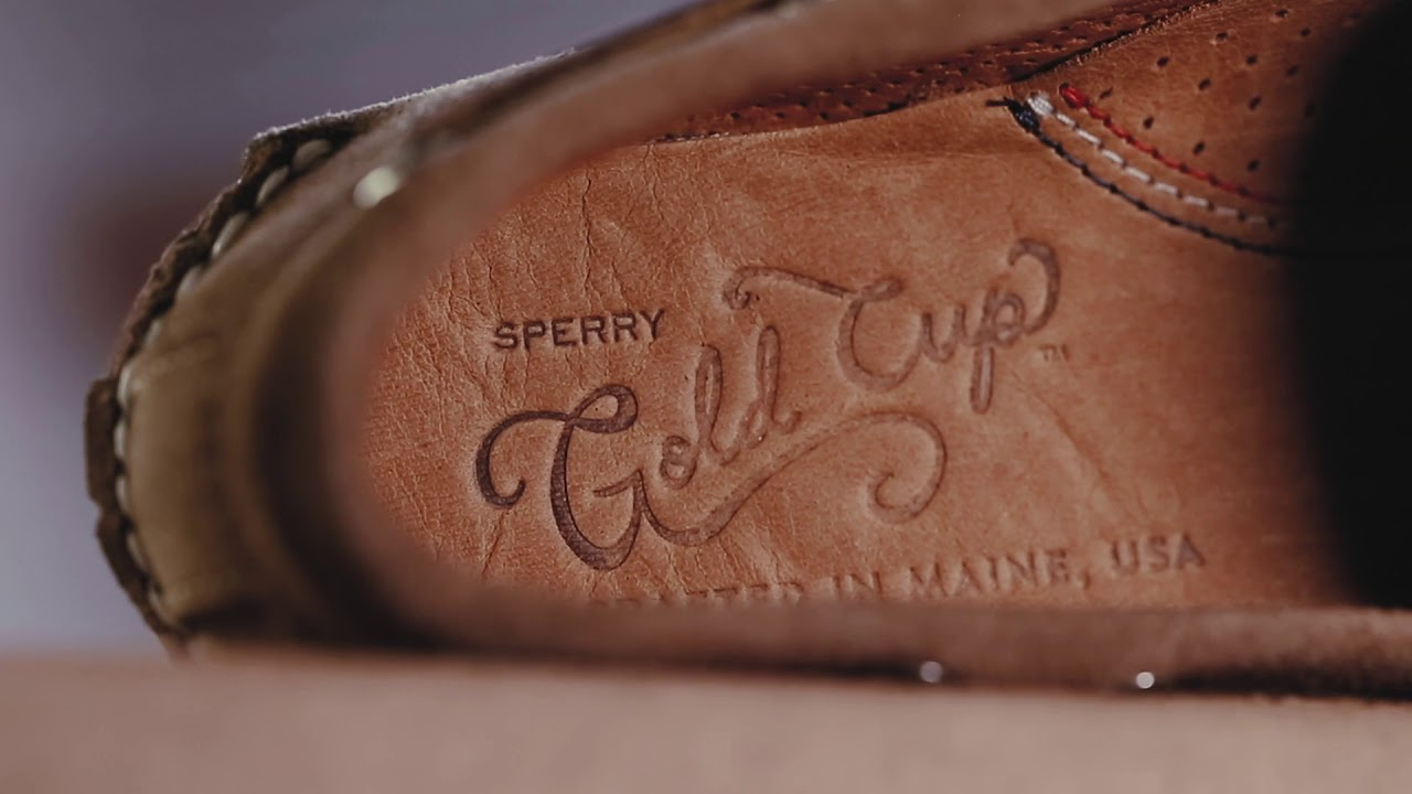 b639fa7c4995d0 Sperry limited-edition Handcrafted in Maine - YouTube
