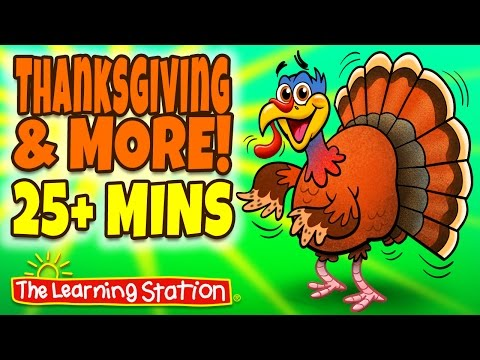 Thanksgiving Songs for Children  Thanksgiving Songs Playlist for Kids