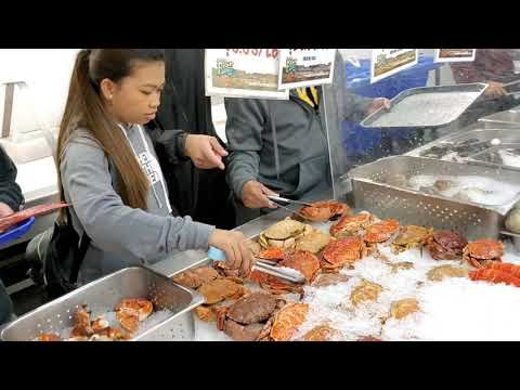 SAN PEDRO FISH MARKET (FIRST TIME) VLOGMAS D18
