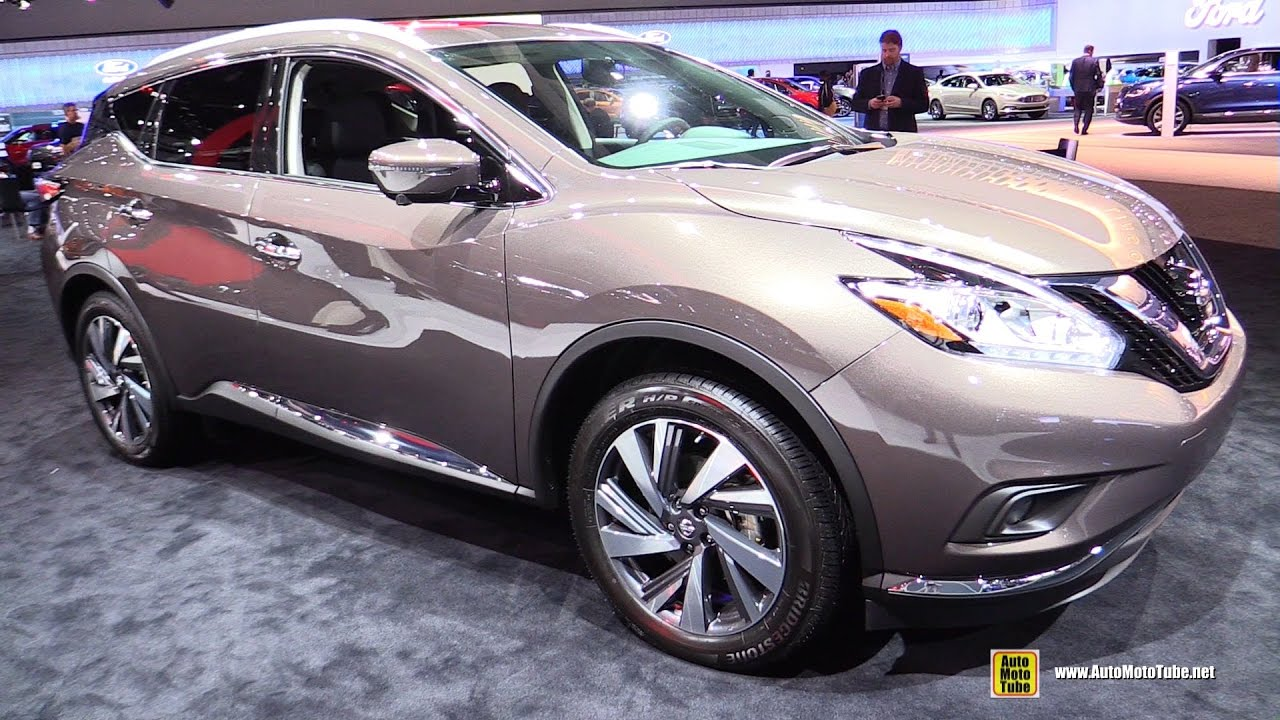 2017 Nissan Murano Platinum Exterior And Interior Walkaround 2016 La Auto Show You