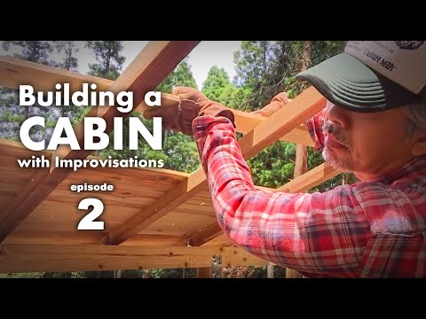 Building a cabin with improvisations 2