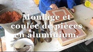Moulage et coulée pièces en aluminium.