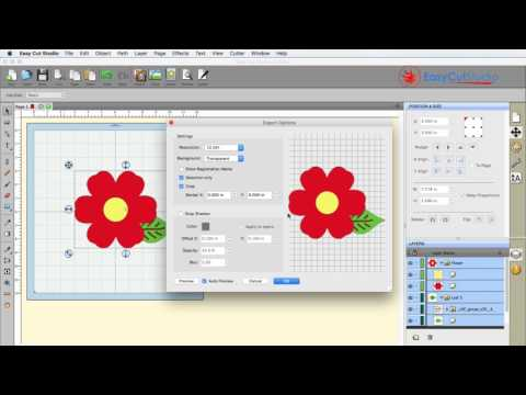 Easy Cut Studio Create Exporting Project(Exporting to Image) as a Photo File