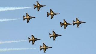 RoKAF Black Eagles 블랙이글스 Singapore Air Show 2014 16.Feb 2014