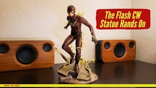 The Flash CW Statue Hands On