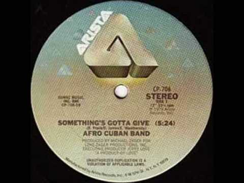 AfroCuban Band  Somethings Got To Give Todd Terje Rekutt