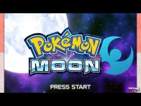 Pokémon Moon For 3DS ᴴᴰ (2016) Full Playthrough