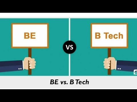 Difference between BTech vs B.E//All types of knowledge