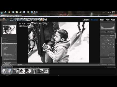 Black & white: post production - in depth