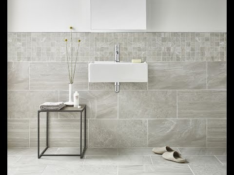 Etonnant Grey Marble Tile Texture For Bathroom Ideas