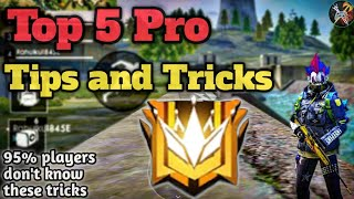 5 Pro Tips and Tricks , Ranked game tips Garena Free Fire by DEATH RAIDER GAMING