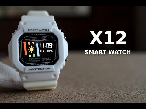 ДИЧЬ: Обзор новых смарт-часов X12 или что будет, если скресть Xiaomi Mi Band и Casio G-Shock