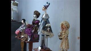 видео Выставка  «Авторская кукла»