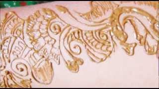 How To Make Henna Mehndi Design-Easy Mehendi Tattoo Design Tutorial Thumbnail