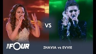 Download lagu Zhavia vs Evvie THE BATTLE OF THE SEASON Finale The Four