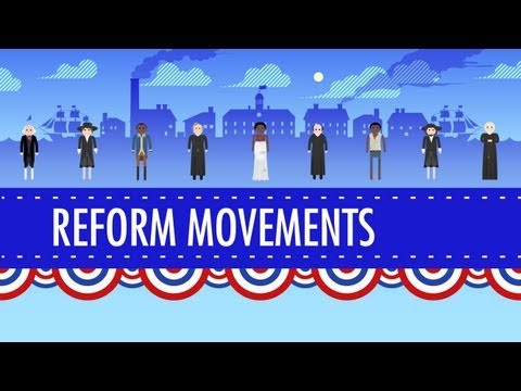 19th Century Reforms: Crash Course US History #15 streaming vf