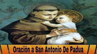 Oracion Milagrosa a San Antonio: Oracion a San Antonio De Padua Para El Amor