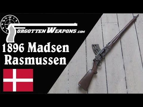 Madsen M1896 Flaadens Rekylgevær: The First Military Semiauto