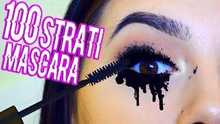 100 strati di mascara - 100 coats of mascara