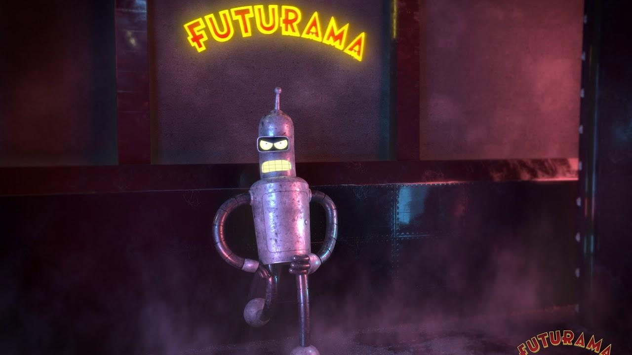 Futurama - 3D Bender