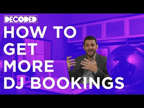 How To Get More DJ Bookings
