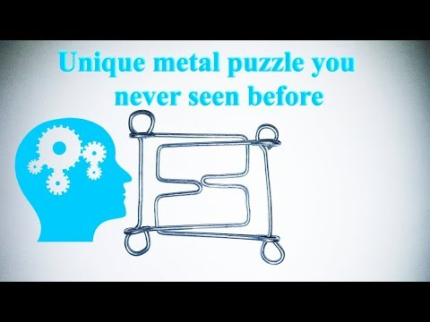 🔴 [DIY] How to do a Metal Puzzle at Home HOME 🔴