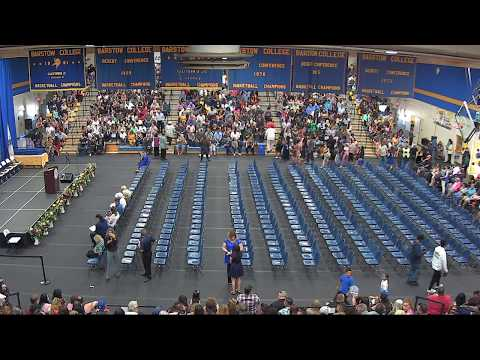 Barstow Community College Commencement 2018