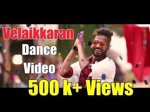 Velaikkaran - Karuthavanlaam Galeejaam Dance Video | Sivakarthikeyan | Anirudh | David Boon Choreo