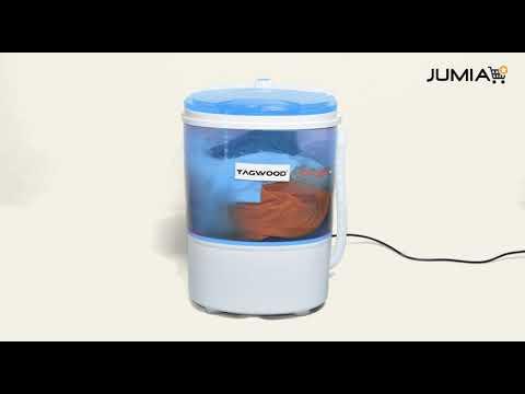 TAGWOOD Easy Clean 3KG Semi-Automatic Washing Machine