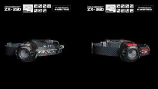 ZEXUS LED LIGHT: ZX-350 / ZX-360