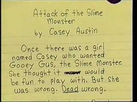 slime monster ghostwriter services